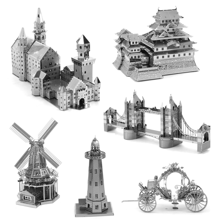 3-PCS-3D-Metal-Assembly-Model-World-Building-DIY-Puzzle-Toy-StyleBrandenburg-Gate-TBD0426996231