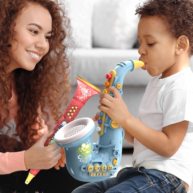 Children-Early-Education-Puzzle-Playing-Simulation-Musical-Instrument-Style-6805-Saxophone-Green-TBD0539262106