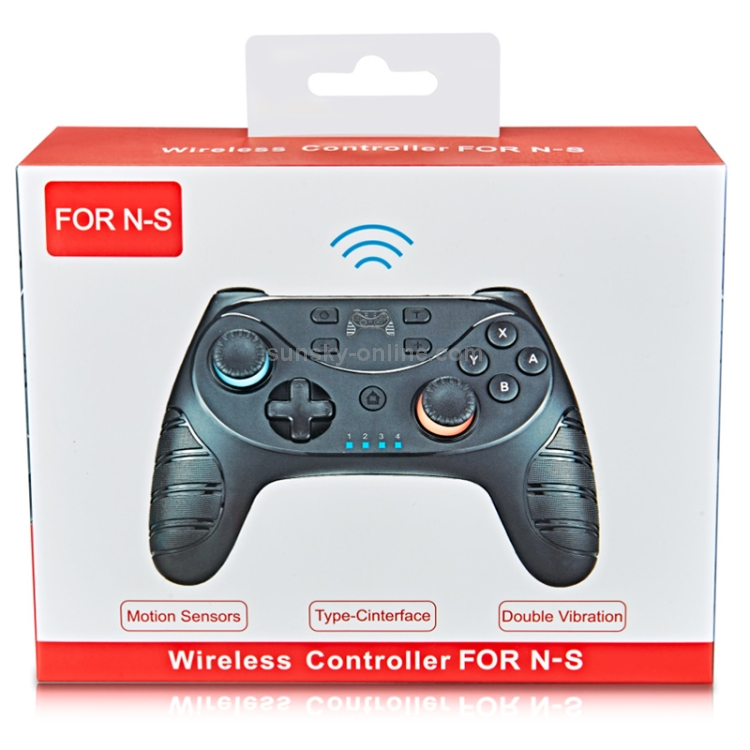 For-Switch-Pro-Wireless-Bluetooth-GamePad-Game-Handle-Controller-Black-NT0233B