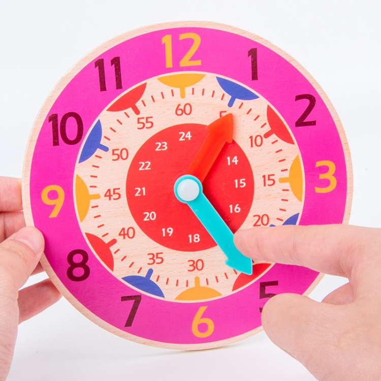 KBX-974-5-PCS-Time-Cognition-Digital-Clock-Children-Early-Education-ToyOrange-TBD0552701801F