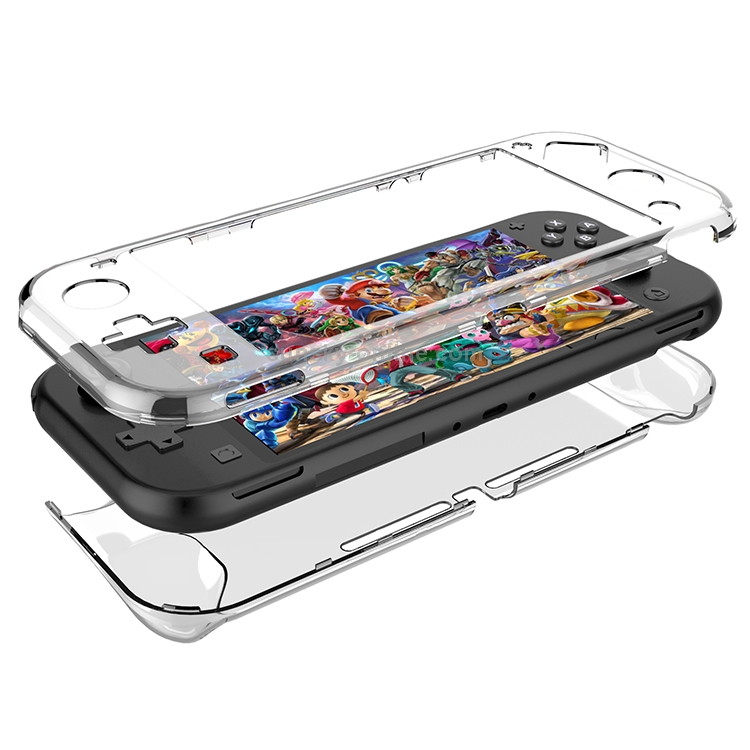 Transparent-Environmentally-PC-Protecive-Cover-for-Nintendo-Switch-Lite-Transparent-NT0144T