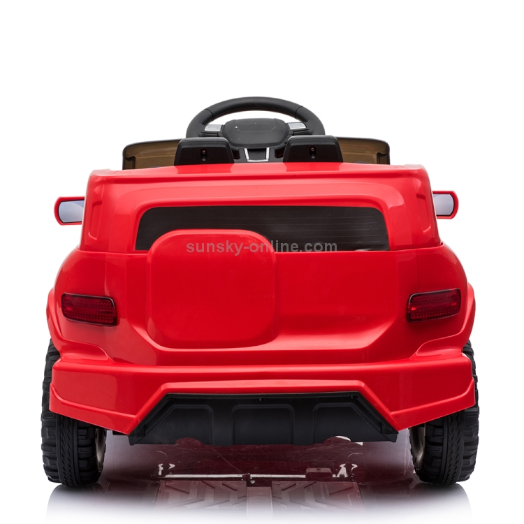 US-Warehouse-Kids-Children-Remote-Control-Single-Drive-Ride-On-Car-Electric-Car-Toy-Ordinary-Music-Version-Red-KEV3014RUS