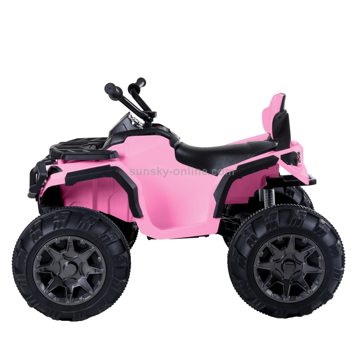 US-Warehouse-LEADZM-LZ-906-45Wx2-12V-7AHx1-ATV-Double-Drive-Children-Car-Ride-On-Car-without-Remote-Control-Pink-KEV2710FUS