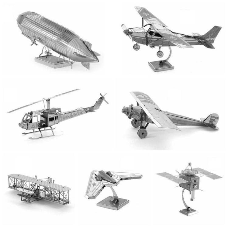 3-PCS-3D-Metal-Assembly-Model-DIY-Puzzle-Style-B17-Bomber-TBD0426985916