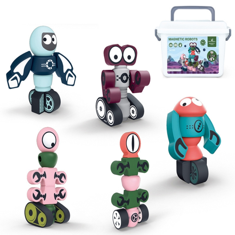Magnet-Magnetic-Robot-Children-Early-Education-Building-Blocks-Assembling-Educational-Toys-5-PCS-Set-TBD0558899002